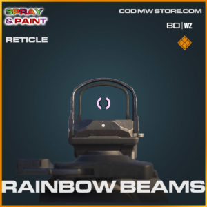 Rainbow Beams reticle in Cold War and Warzone