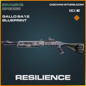 Resilience Gallo SA12 blueprint skin in Cold War and Warzone