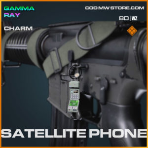 Satellite Sphone charm in Cold War and Warzone