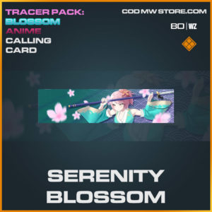 serenity blossom calling card in Cold War and Warzone