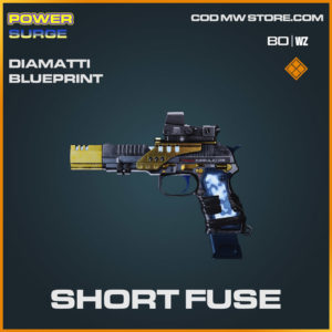 Short Fuse Diamatti blueprint skin in Cold War and Warzone