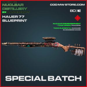 Special Batch Hauer 77 blueprint skin in Cold War and Warzone