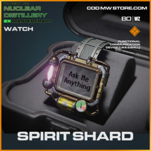 Spirit Shard watch in Cold War and Warzone