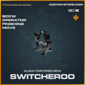 Switcheroo Operator Finishing Move in Cold War and Warzone