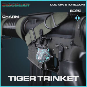 Tiger trinket charm in Cold War and Warzone