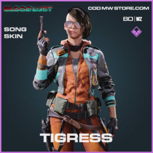 Tigress Song skin in Cold War and Warzone