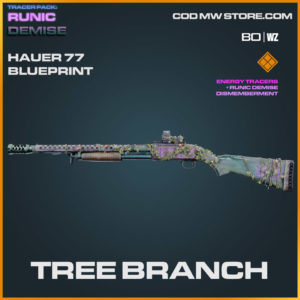 Tree Branch Hauer 77 blueprint skin in Cold War and Warzone