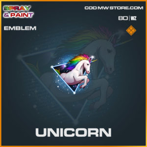 Unicorn emblem in Cold War and Warzone