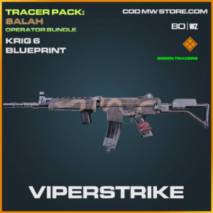 Viperstrike Krig 6 blueprint skin in Cold War and Warzone