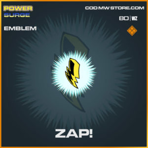 Zap! Emblem in Cold War and Warzone