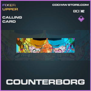 counterborg calling card in Cold War and Warzone