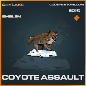 coyote assault emblem in Cold War and Warzone