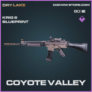 coyote valley krig 6 blueprint in Cold War and Warzone