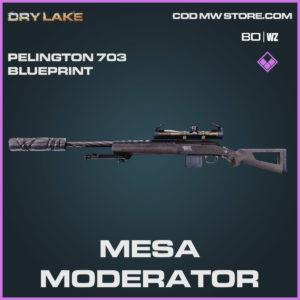 mesa moderator pelington 703 blueprint in Cold War and Warzone
