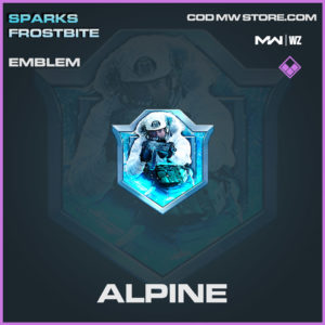 Alpine emblem in Modern Warfare and Warzone
