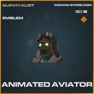Animated Aviator emblem in Warzone and Cold War