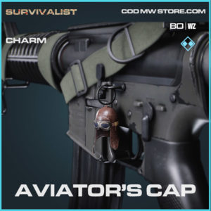 Aviator's Cap charm in Warzone and Cold War