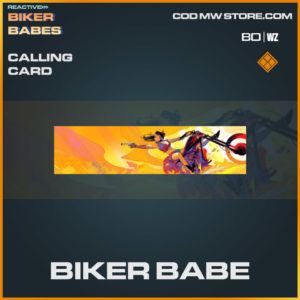 Bikber Babe calling card in Warzone and Cold War