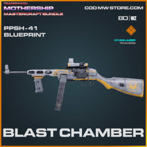 Blast Chamber PPSH-41 blueprint skin in Warzone and Cold War