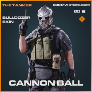 cannon ball legendary bulldozer skin in Cold War and Warzone