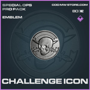 Challenge Icon emblem in Warzone and Cold War