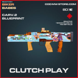 Clutch Play Carv.2 blueprint skin in Warzone and Cold War