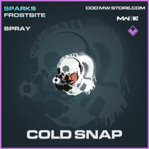 Cold Snap spray in Modern Warfare and Warzone