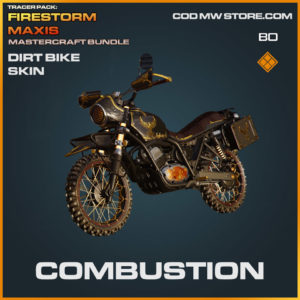 Combustion Dirt Bike Skin in Warzone and Cold War