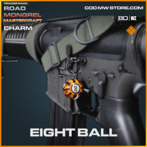Eight Ball charm in Cold War and Warzone