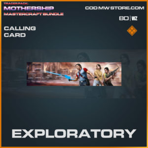 Exploratory calling card in Warzone and Cold War