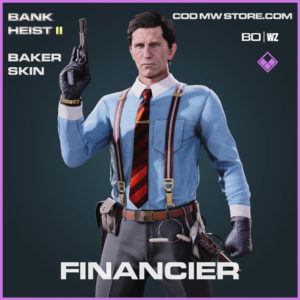 Financier Baker Skin in Warzone and Cold War