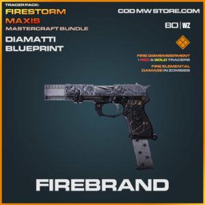 Firebrand Diamatti blueprint skin in Warzone and Cold War