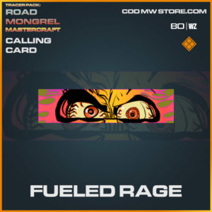 Fueled Rage calling card in Cold War and Warzone