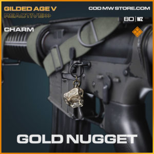 Gold Nugget charm in Cold War and Warzone