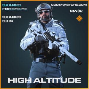 High Altitude Sparks skin in Modern Warfare and Warzone