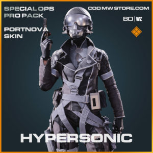 Hypersonic Portnova skin in Warzone and Cold War