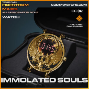 Immolated Souls watch in Warzone and Cold War