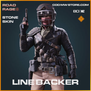 Line Backer stone skin in Warzone and Cold War