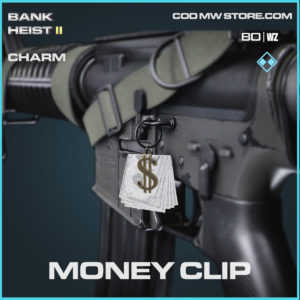 Money Clip charm in Warzone and Cold War