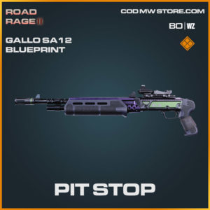 Pit Stop gallo SA12 blueprint skin in Warzone and Cold War