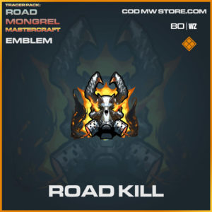 Road Kill emblem in Cold War and Warzone