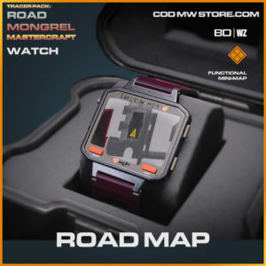 Road Map watch in Cold War and Warzone