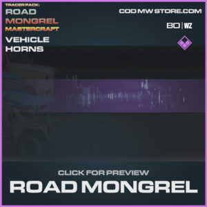 Road Mongrel Vehicle Horns in Cold War and Warzone