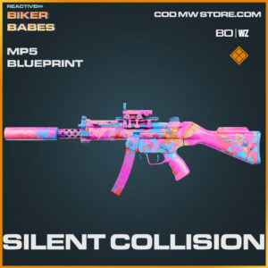 Silent Collision Mp5 blueprint skin in Warzone and Cold War