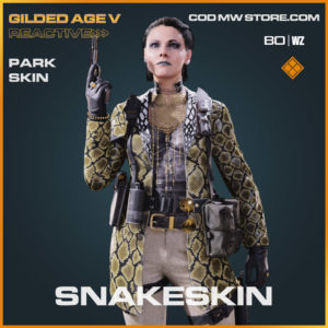 Snakeskin Park Skin in Cold War and Warzone