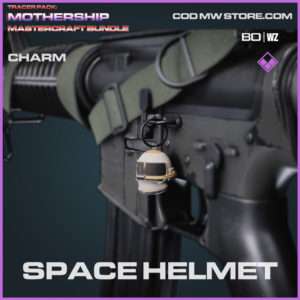 Space Helmet charm in Warzone and Cold War