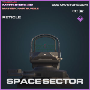 Space Sector Reticle in Warzone and Cold War