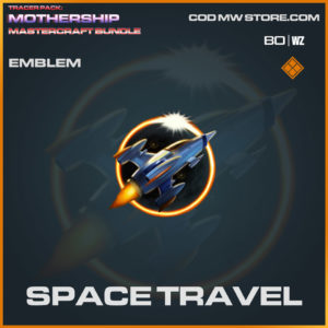 Space Travel emblem in Warzone and Cold War
