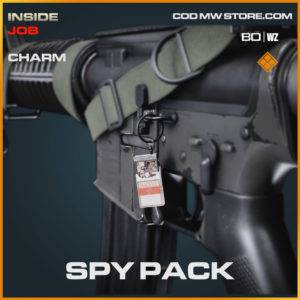 Spy Pack charm in Cold War and Warzone