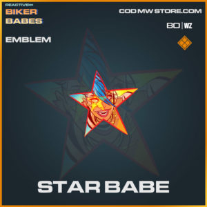 Star Babe emblem in Warzone and Cold War